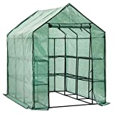 D4P Display4top Greenhouse Grow House with 8 Shelves,143 x 216 x...