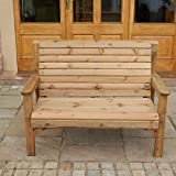 WOODEN GARDEN FURNITURE CHUNKY SOLID FULLY ASSEMBLED WOODEN...