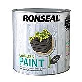 RONSEAL RSLGPCG25L Garden Paint Charcoal, Grey, 2.5 Litr