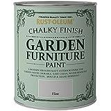 Rust-Oleum Chalky Finish Garden Furniture Paint 750ml - All...