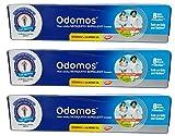 Dabur 3 Advanced Odomos Mosquito Repellent Cream 50G X 3 = 150G
