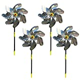 YeenGreen Bird Repellent Windmills, 4 PCS Reflective Bird...