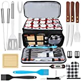 AISITIN BBQ Grill Tool Set Barbecue Accessories with Insulated...