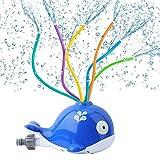 Garden Sprinkler Kids, Water Toys for Kids Outdoor Whale Design...