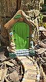 Spindee Fairy Door For Garden Trees Outdoor Accessory Ornament...