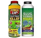 BeSquared 800g Slug and Snail Killer and 650g Power Up Slug &...