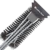 Grandma Shark 18' Grill Cleaning Brush, BBQ Grill Barbecue Brush...