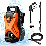 PAXCESS Powerful Pressure Washer, 120Bar Electric Jet Washer...