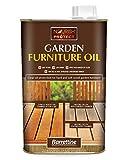 Nourish & Protect OIGF001 1 L Garden Furniture Oil, Natural