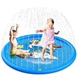 Wesimplelife Sprinkler and Splash Water Play Mat for Kids Splash...