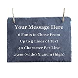 Covering All Occasions Personalised Slate Plaque Sign Custom...