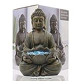 Goodeco Meditating Buddha Garden Ornament Figurine,Zen Garden...