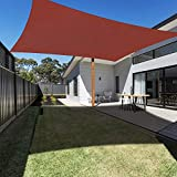 Ankuka 3m x 4m Rectangle Sun Shade Sail Water Resistant Outdoor...