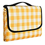 Gosure Outdoor Picnic Blanket,Foldable Outdoor Beach...