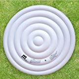 MSpa 6 Person Round Spa Hot Tub Inflatable Bladder Cover Heat...