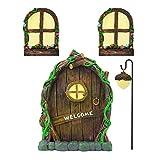 Maxjaa Miniature Fairy Tree Decorations, Luminous Outdoor Tree...