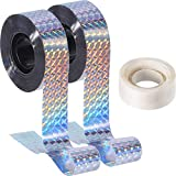 Chinco Bird Deterrent Reflective Scare Tape, Double Sided Bird...