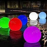 DeeprBlu Solar Floating Pool Light, Solar Powered Colour Changing...