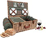 """Wrenbury 23"""" Fitted Deluxe Picnic Hamper with Chiller..."""