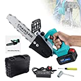 12 inch Cordless Electric Chainsaw,700W Battery Powered Saw...