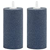Uniclife 2 PCS Large Air Stone Cylinder 10CM Bubble Diffuser for...