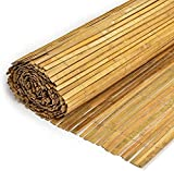 Bamboo Slat Fence Screen Roll Screening Fencing Privacy Panel...