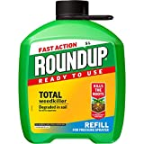 Roundup 112113 Fast Action Total Weedkiller 5 Litre Refill, Clear