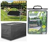Heavy Duty Waterproof 2 Seater Swinging Garden Hammock Cover In...