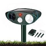 Garden Cat Repellent, Ultrasonic Cat Repellent with Motion Sensor...