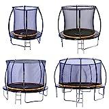 Kanga 6ft Premium Trampoline with Safety Enclosure, Net, Ladder...