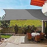 OldPAPA Sun Shade Sail Rectangle Waterproof Sun Shade 95% UV...