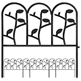 Amagabeli 18in X 7ft Garden Fence Metal Panels Decorative Garden...