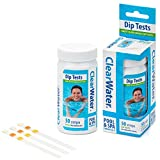 Clearwater CH0043 50 Dip Test Strips for Swimming Pool and Spa...