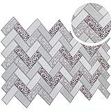 Diagonal Diamond Pattern Tile Effect PVC Splashback Cladding...