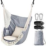 Chihee Hammock Chair Hanging Swing 2 Seat Cushions...