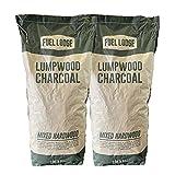 Fuel Lodge 20kg Lumpwood Charcoal - Mixed Hardwood Oak, Ash and...
