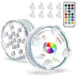 Homester Hot Tub Lights, 2 Pack Pool Lights Underwater with 15...