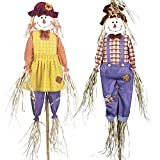Garden Gear Scarecrows Garden Ornament Bird Deterrent Twin Pack...