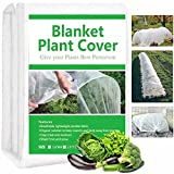 Kayfia Garden Fleece Frost Protection Plant Covers, Horticultural...