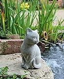 Garden Cat Ornament Decor Indoor Outdoor Statue Animal Home Door...