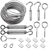 TXErfolg Cable Railing Kit/Wire Fence Roll Kit/Cable Wire Rope...