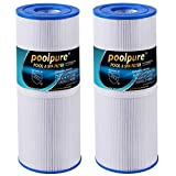 POOLPURE 2 Pack Spa Filter for Hot Tub Replacement for Pleatco...