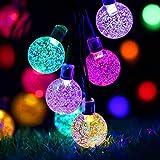 Solar Fairy Lights Outdoor Waterproof, 50LED Solar Garden Lights,...