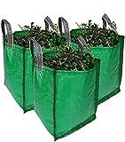 Garden Waste Bags - 120 Litre - 1 to 5 Sacks - PREMIUM GRADE -...