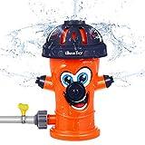 Sprinkler for Kids, 2021 Upgraded Water Spray Sprinkler, Fire...