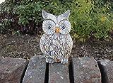 Garden Mile Resin Owl Ornament Garden Outdoor Indoor Decorative...