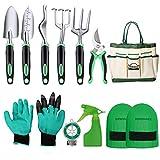 DEWINNER Garden Tool Set, Hand Tool Gift Kit, Outdoor Gardening...