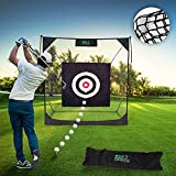 GREAT HAVEN   Golf Net with Target 92.5 x 20.9 x 12.2 cm  ...