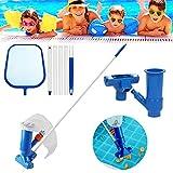 Akoemxeeo Pool Vacuum Cleaner, Portable Pool Maintenance Kit,...