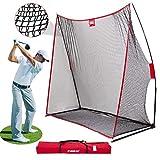 CLORIS Large Heavy Duty Golf Net, 10x7ft Golf Practice Net for...
